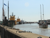 A busy day on the River Yare, Great Yarmouth