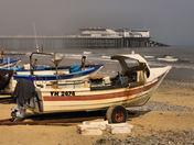 fishing boats at cromer