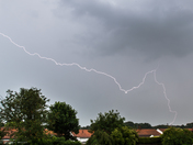 Storm over Sprowston, Norwich