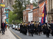 Funeral at St Giles Norwich Citadel Salvation Army