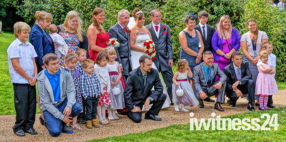Paul & Donna Maund's Wedding 14/9/13