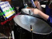 Angel Road Junior School steel pan practice