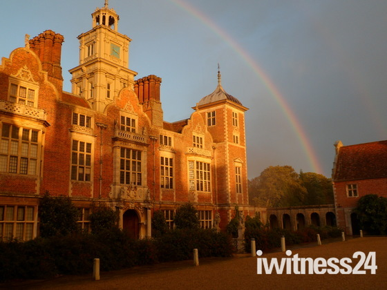 Blickling. The pot of gold at the end of a rainbow.