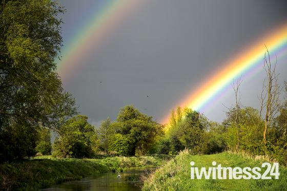 Double Rainbow Refelction