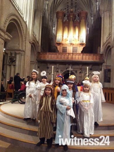 Taverham VC CE Junior School Christmas Carol Concert at Norwich Cathedral