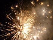 Fireworks and fun at Barnham Cross fireworks Display, Thetford