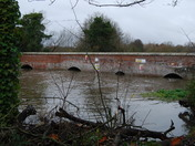 High Water At Hellesdon Mill