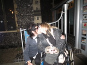 After the Sunday night John  Cooper Clarke gig at the Arts Centre, Norwich