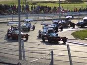 Stock Car Racing and the Caravan Demolision Derby