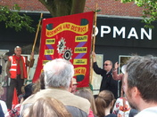 Peaceful meeting in Norwich