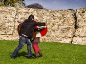Saxon / Viking Re-enactment practice session