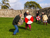 Saxon / Viking Re-enactment practice session