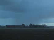 Heavy Hail Storm Near Walcott