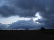 Storm Clouds Over All Saints Church, Walcott