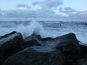 Pounding Waves at Happisburgh