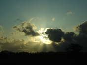 Storm Clouds Silhouetted Over Happisburgh No. 2