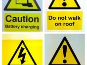 Workshop Warning Signs