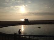 Early morning sailing