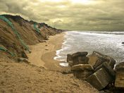 Stormy Hemsby Beach