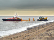 Caister Lifeboat & Trailer