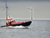 Caister Lifeboat on exercise
