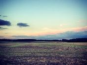 Sunset at Salle