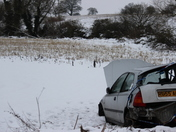 Accident on the B1332 at Woodton (18th of January)