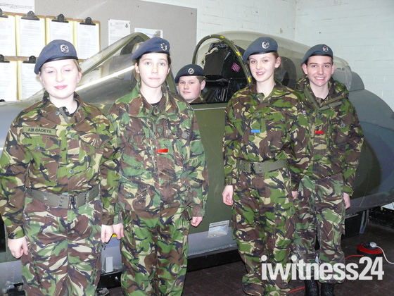 Cadets take to the air without leaving the ground!