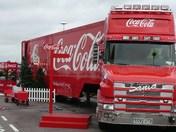 Coca Lorry At Asda Lowestoft