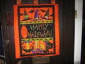 Halloween door hanging