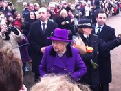 The Queen at West Newton