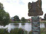 Boughton village sign