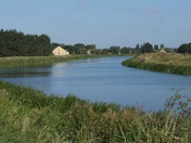 River Ouse in the Fens near Littleport