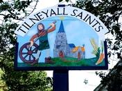 Tilney All Saints sign