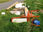 Fly tippers strike again in the Fens