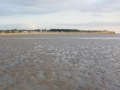 Old Hunstanton Beach at low tide