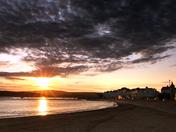 Exe sunset