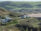 Looking back over Croyde from Baggy Point