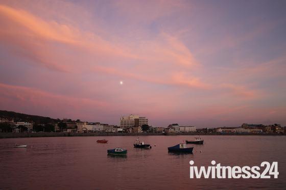 Sunset at weston