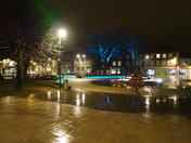 Exmouth Strand on a wet night, Tuesday 31st January 2017