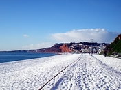 Extreme weather in Budleigh