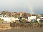 Rainbow over Ilfracombe