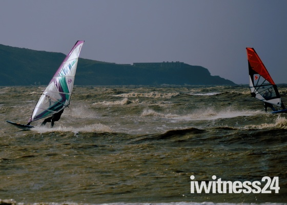 Wind Surfing Weston Front