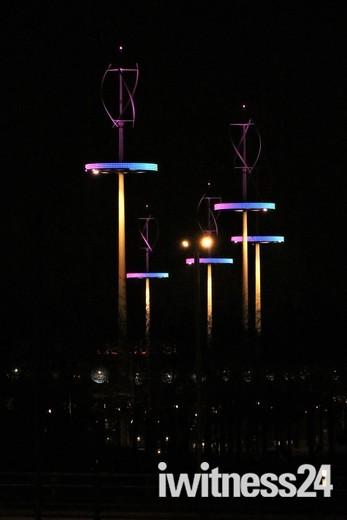 A Walk Through Queen Elizabeth Olympic Park At Night