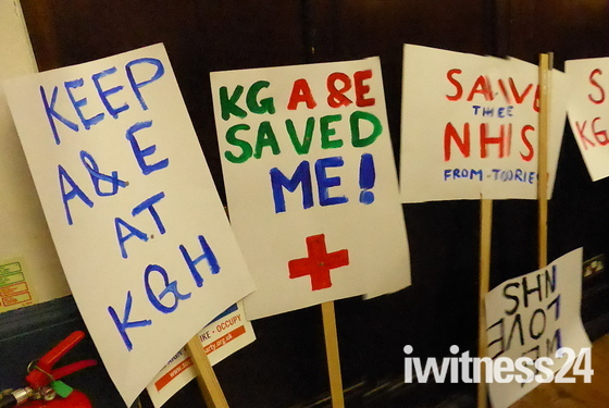 Save A&E of King George Hospital