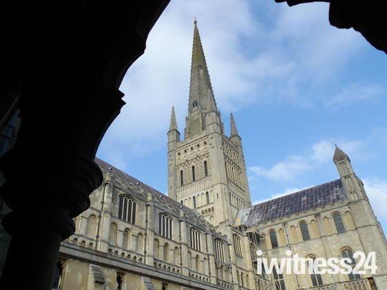 HERE AT NORWICH CATHEDRAL - PART 1