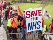 Hospital Cuts Demonstration