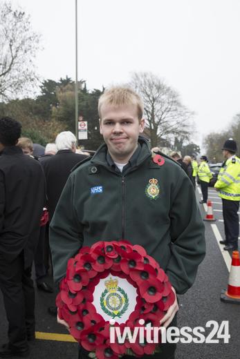 Remembrance service takes place in Biggin Hill Kent