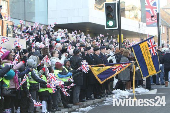 Kings Troop move to Woolwich