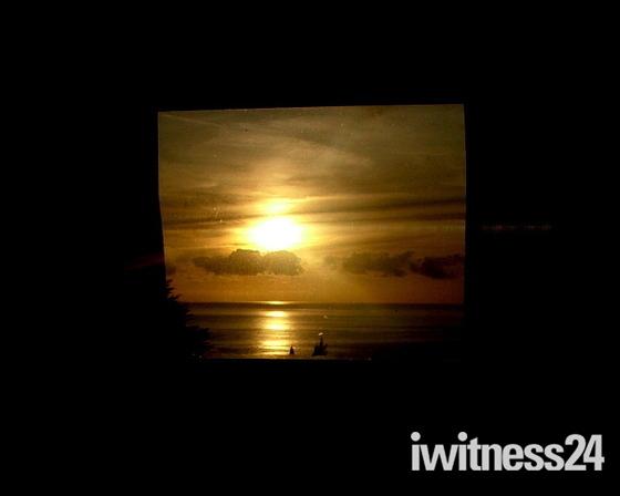 Framed sunset A
